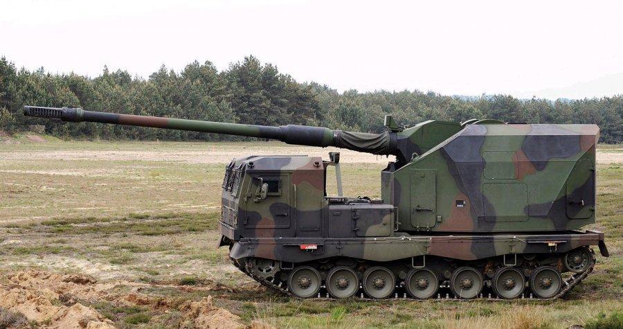 Артиллерийская установка на вооружении немецкой армии