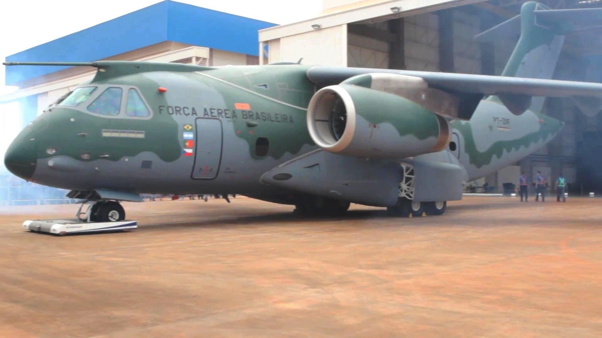 Бразильский самолет ВТС КС-390