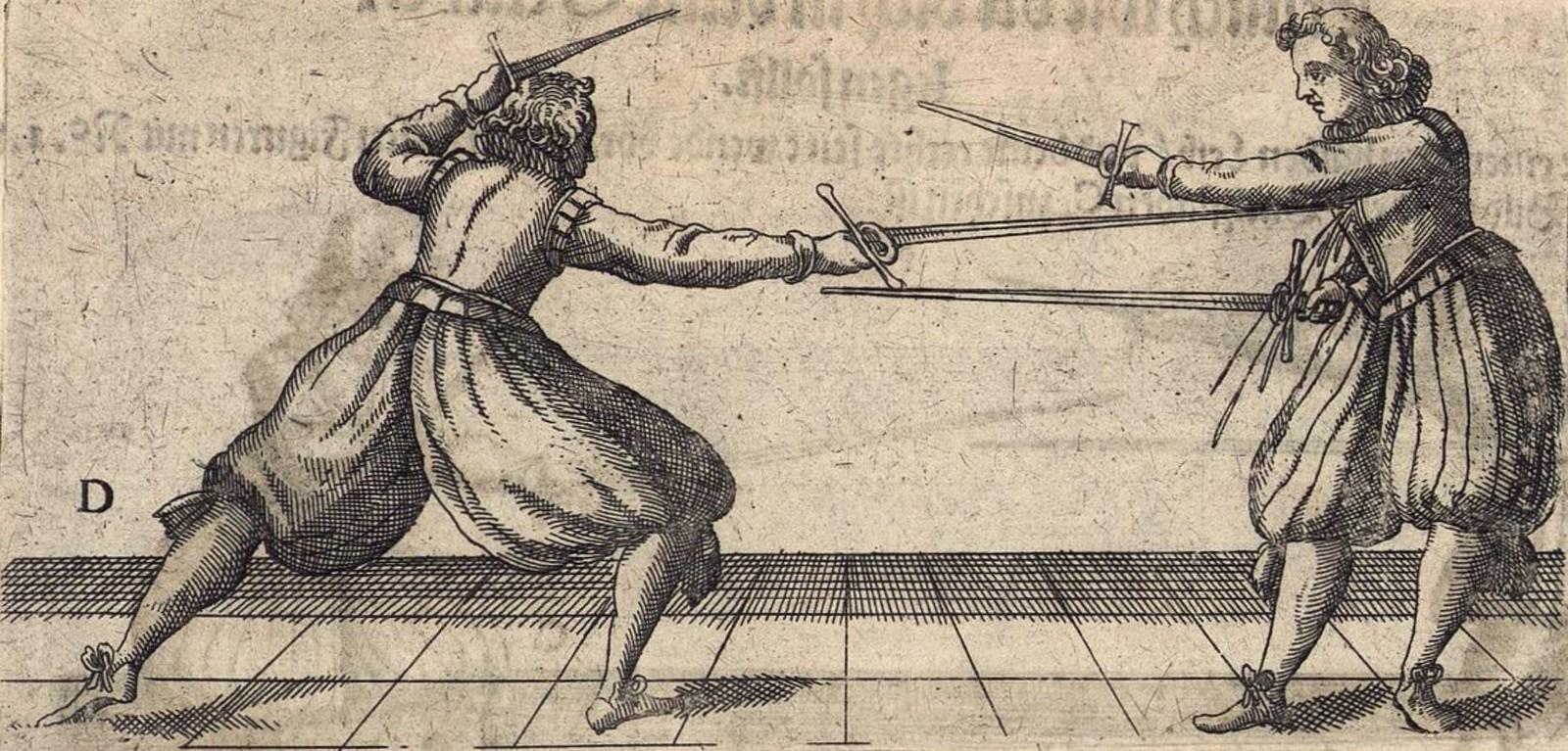 Фехтование с использованием даги