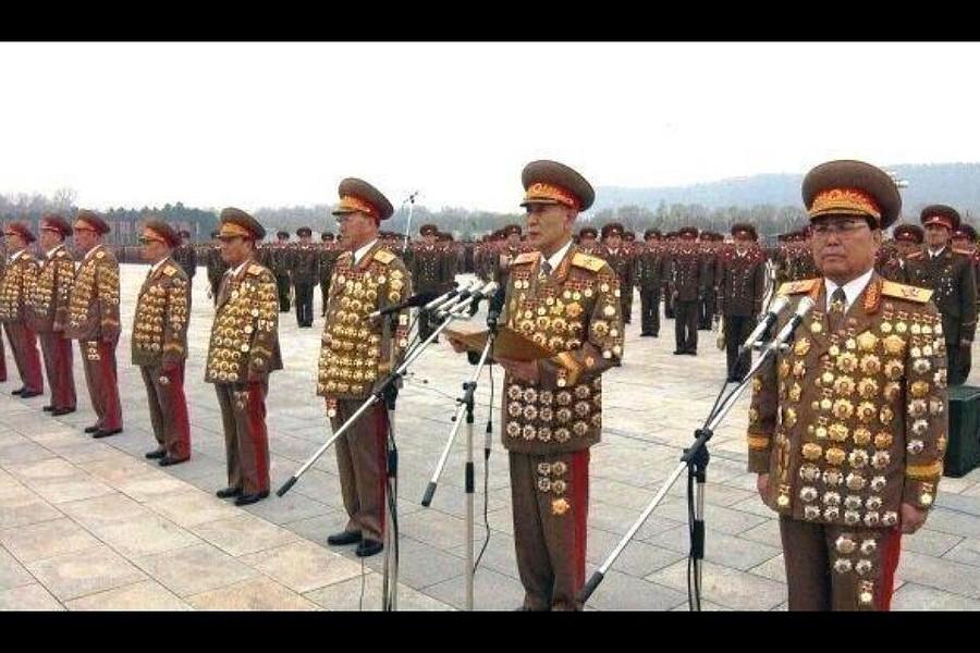 Генералы армии КНДР