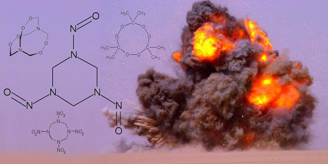 Химическая формула взрывчатки