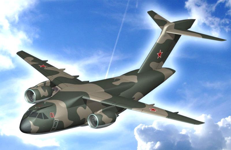 ИЛ-214 в полете