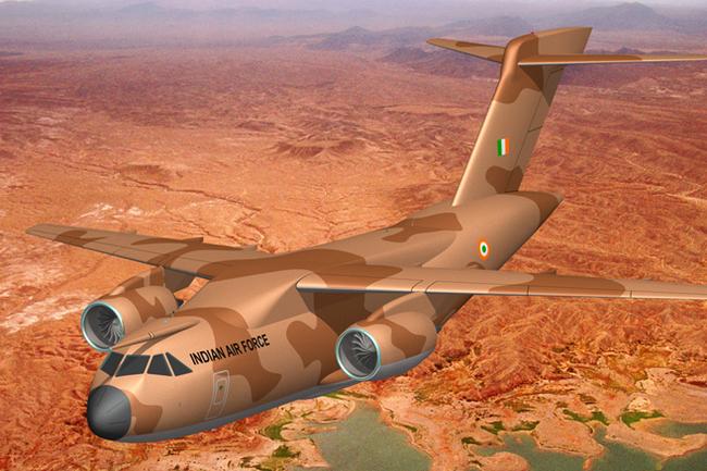 Индийский самолет
