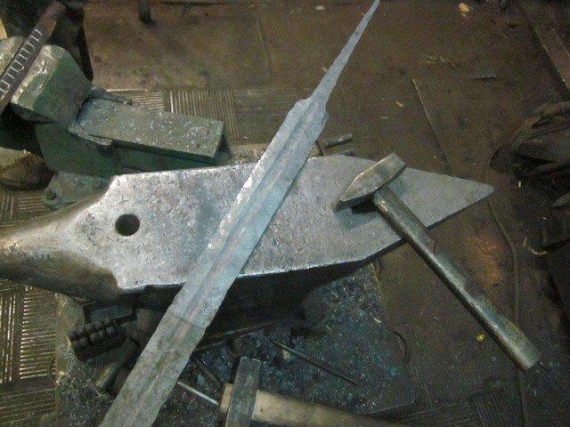 Инструменты для ковки меча