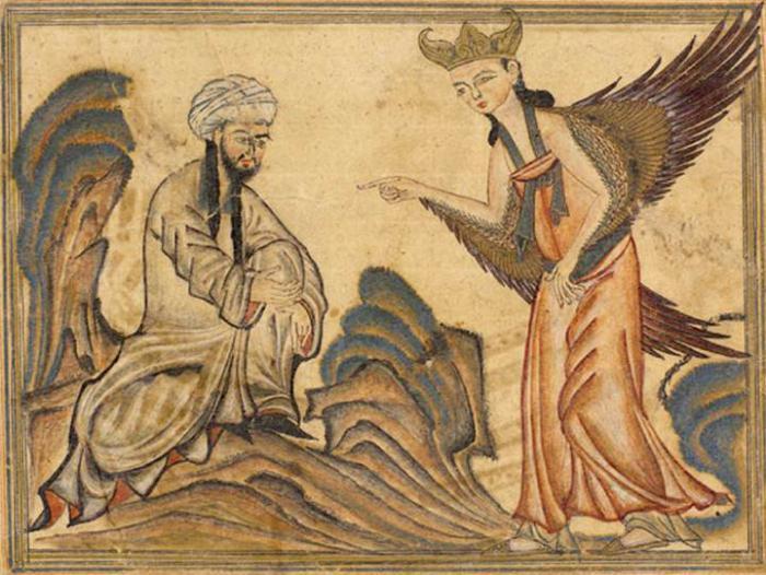 Картина времен халифата Омейядов