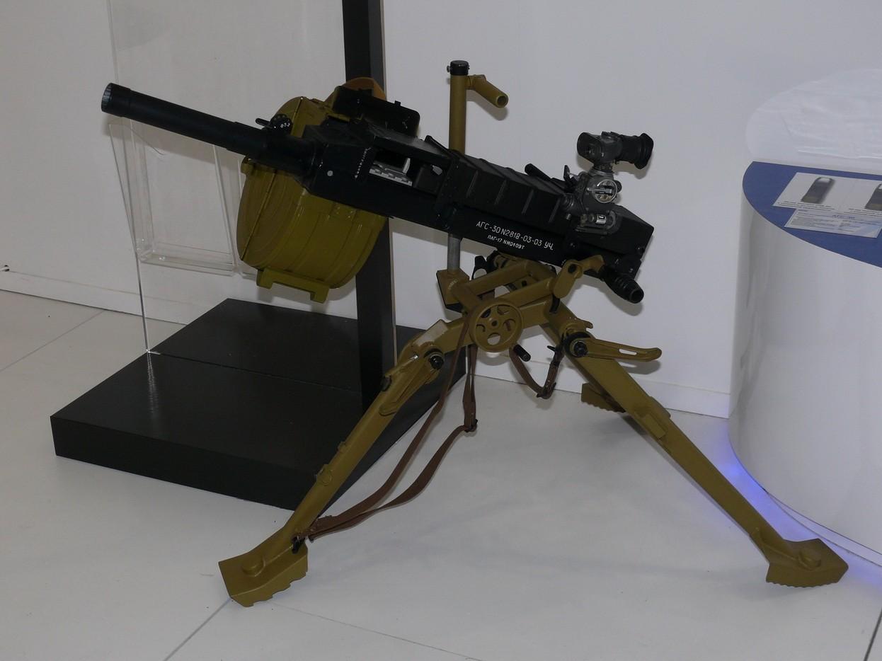 Муляж АГС-30 в музее