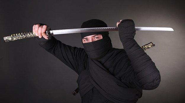 Ниндзя с мечом