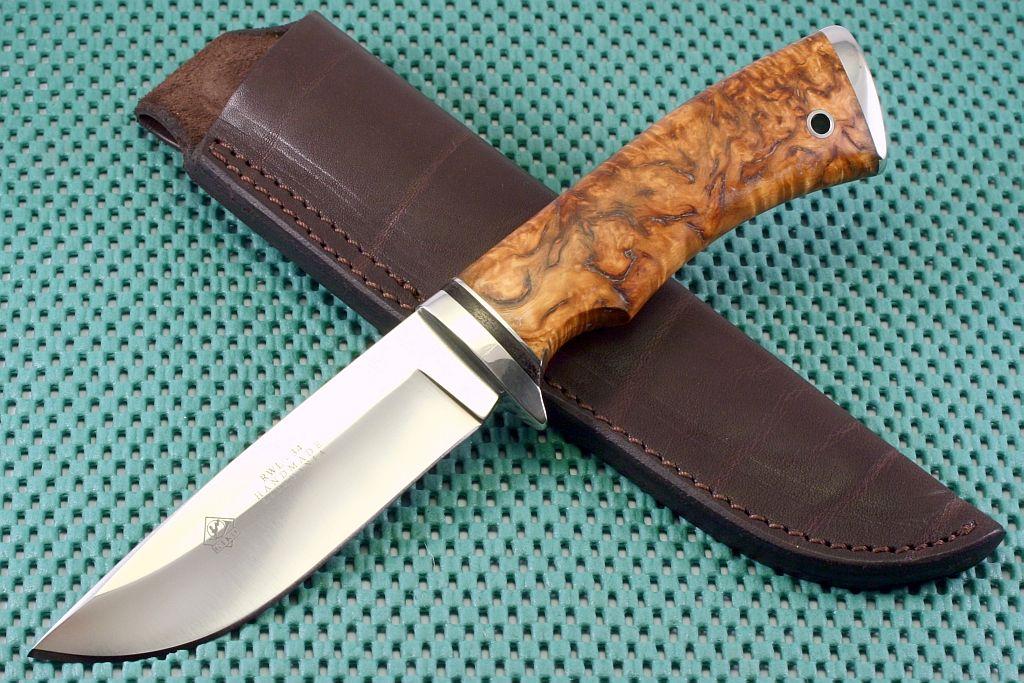 Как сделать охотничий ножи