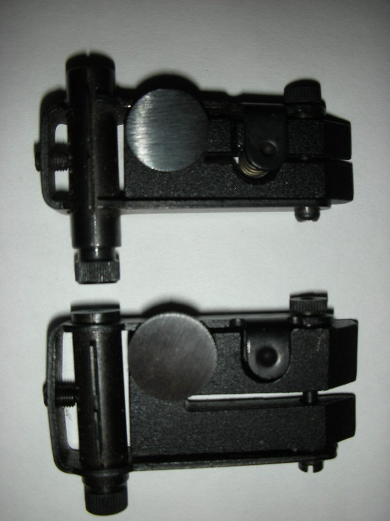 Открытый прицел для винтовки