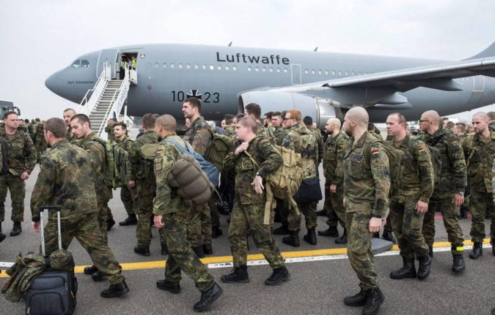 Отправка солдат за границу