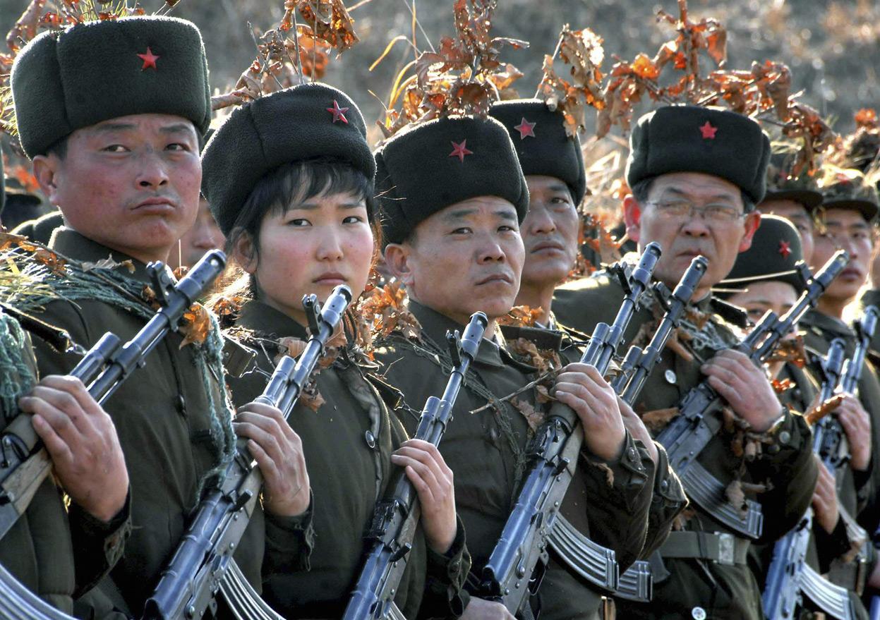 Пехота КНДР