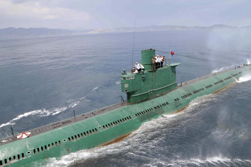 Подводная лодка с баллистическими ракетами