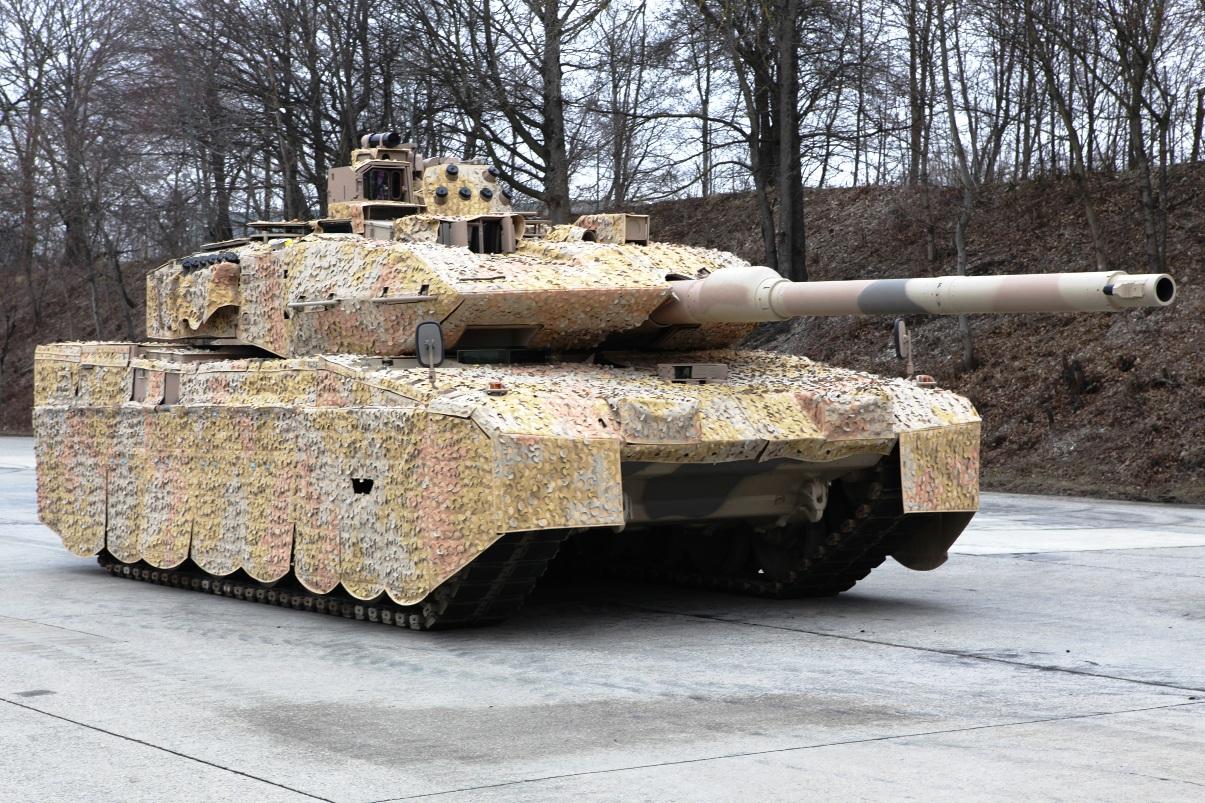 Последняя модель - Леопард-2А7+