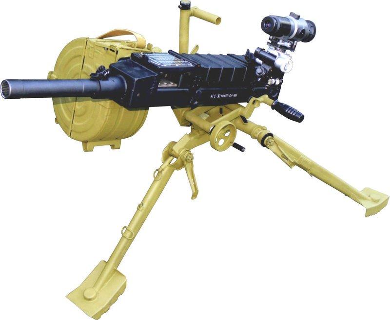 Российский гранатомет АГС-30