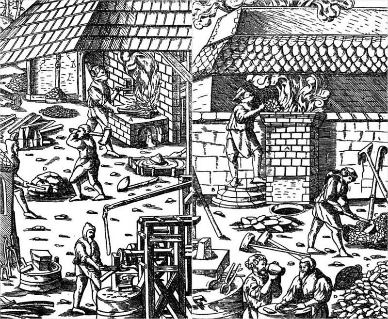 Средневековые кузни