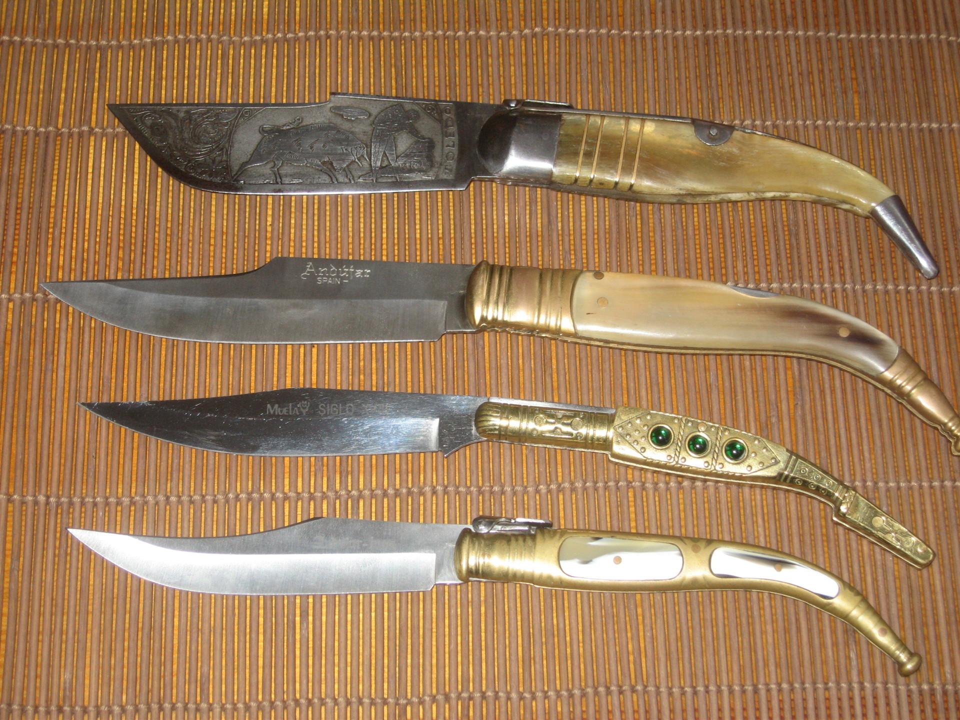 Средневековые складные ножи