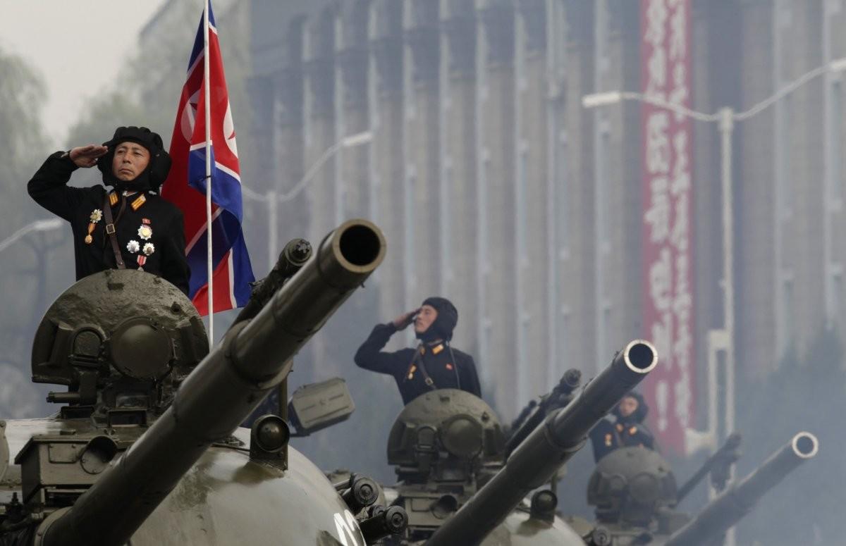 Танкисты Северной Кореи