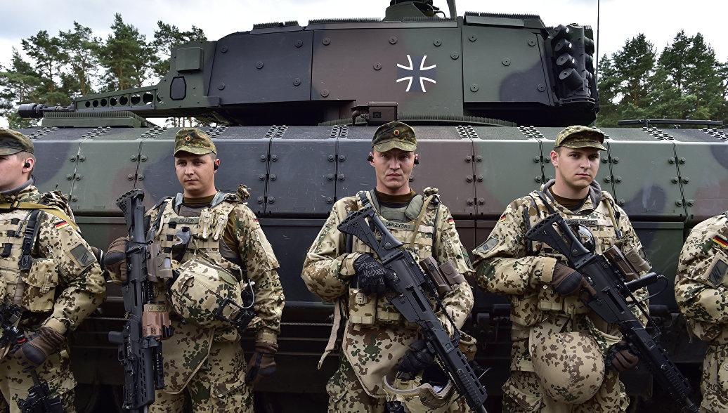 танковое подразделение Бундесвера