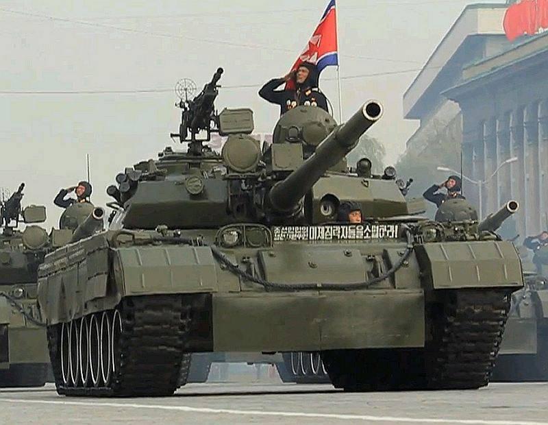 Танковые войска КНДР