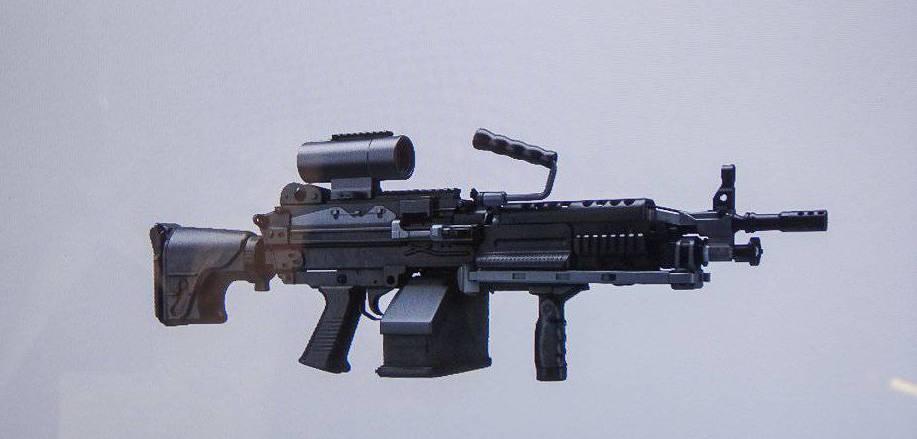 Усовершенствованный пулемет FN Minimi