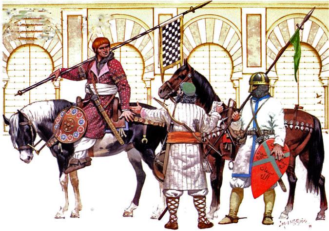 Воины Кордовского халифата