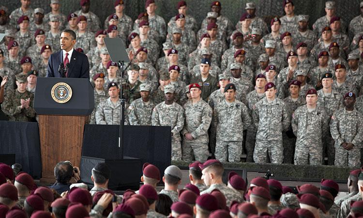 Выступление Президента перед военными