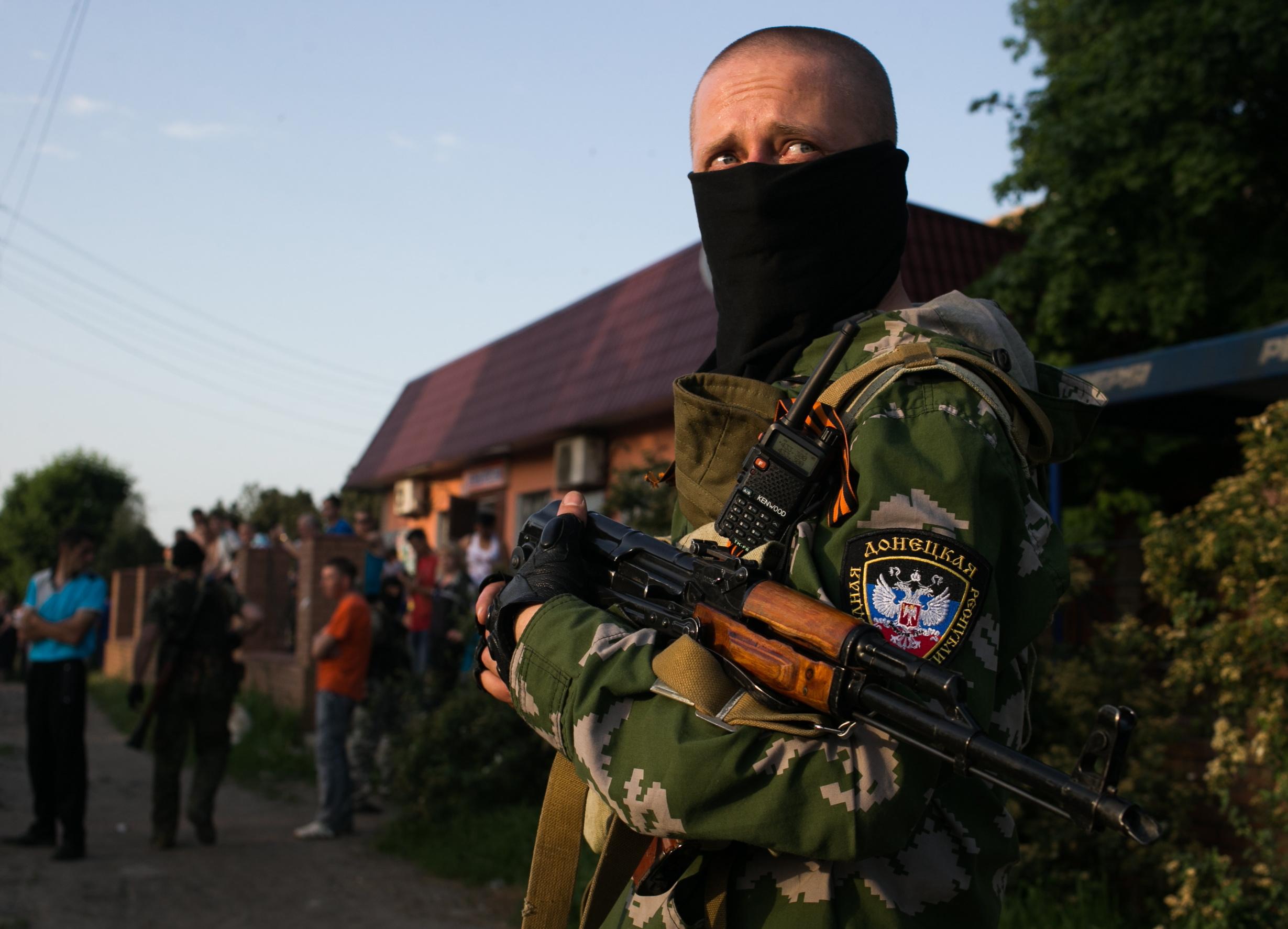 Донецкий ополченец