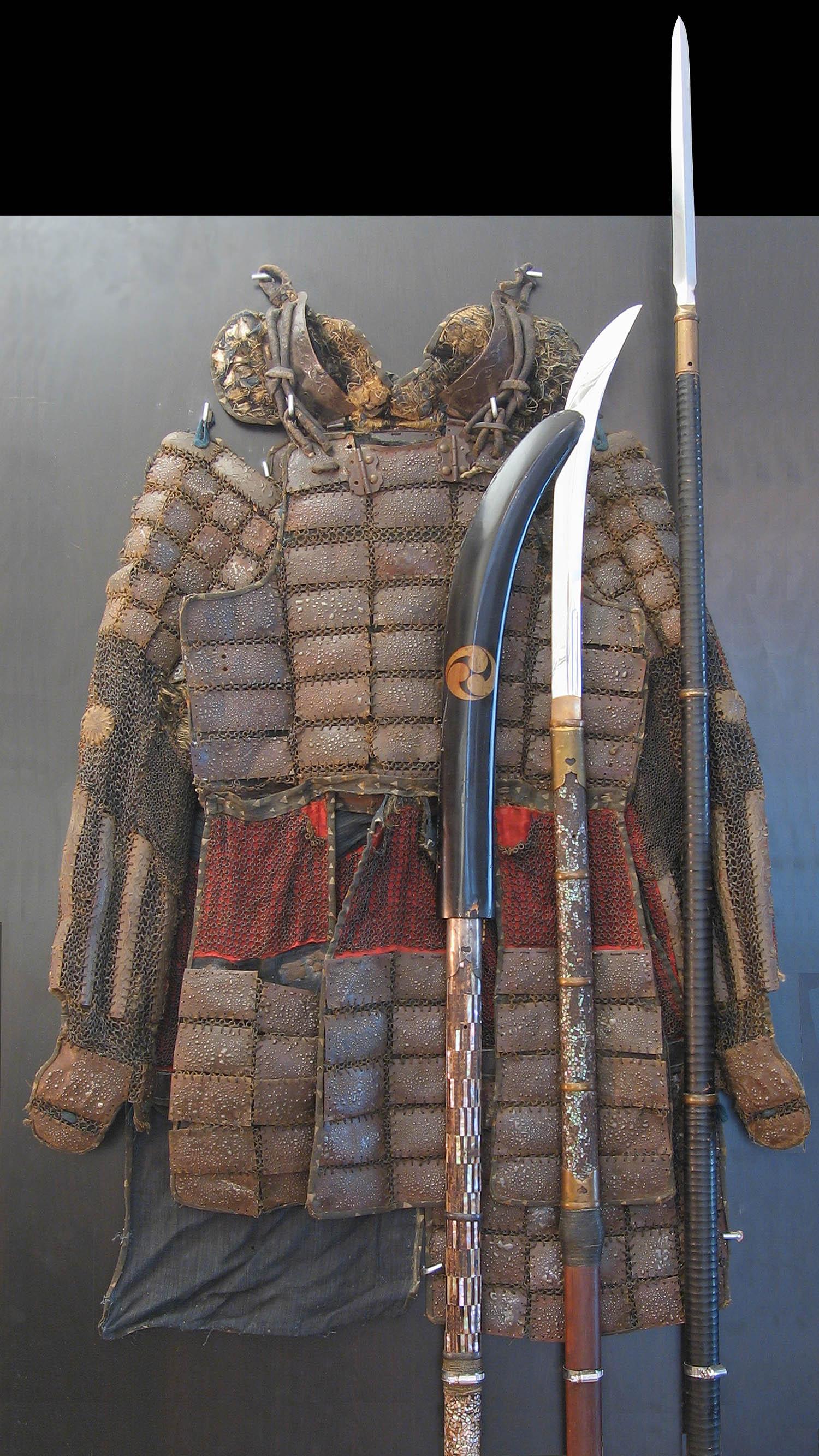 Доспехи и оружие самурая XIV века