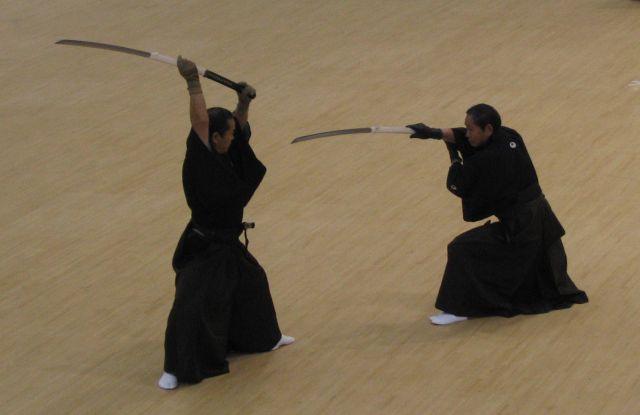 Фехтование с нагамаки