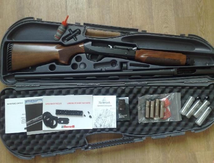 Футляр с ружьем