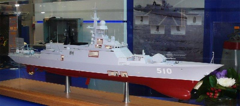 Головной корабль проекта 20385