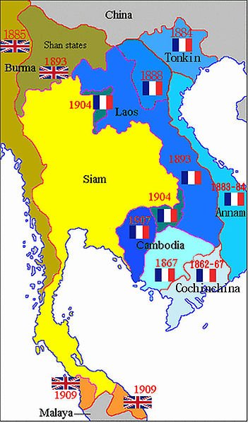 Индокитай в 1862-1940 гг