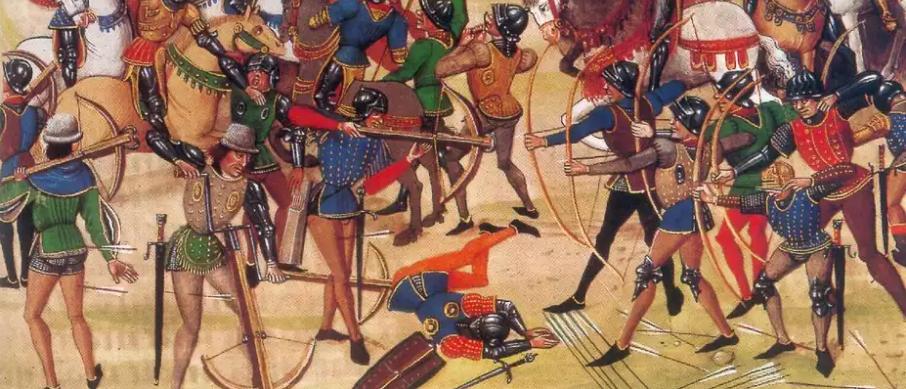 Изображение средневековой битвы