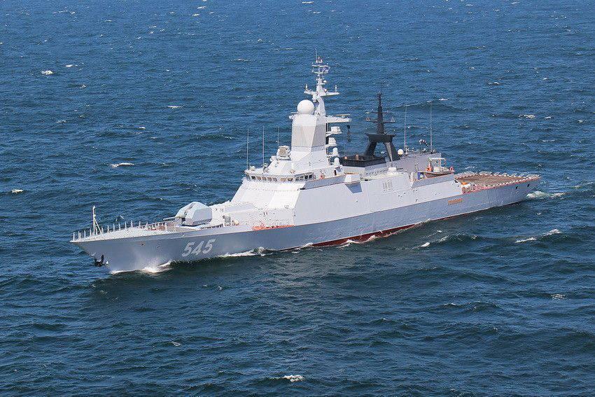 Корабли проекта 20380 оснащены по последнему слову техники