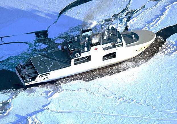 Корабли проекта 23550 могут колоть лед толщиной в полтора метра