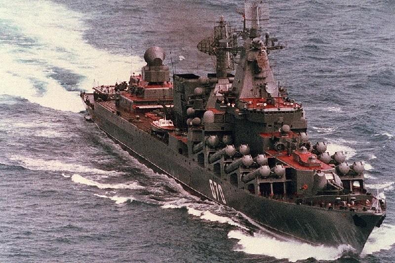 """""""Маршал Устинов"""" - крейсер проекта 1164"""