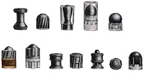 Многообразие пуль