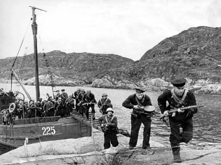 Морская пехота времен ВОВ