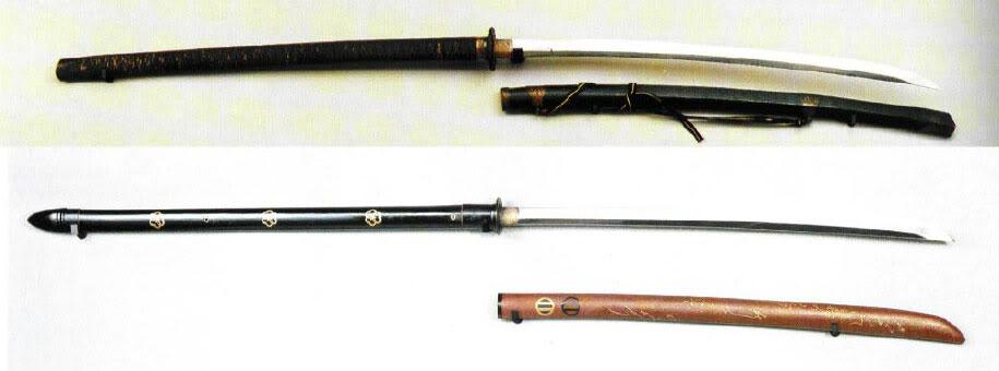 Нагамаки и ножны к ним