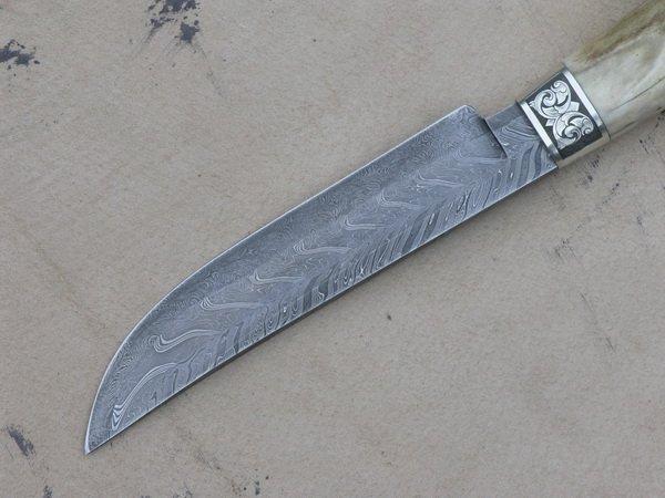 Нож с хорошо заточенной режущей кромкой