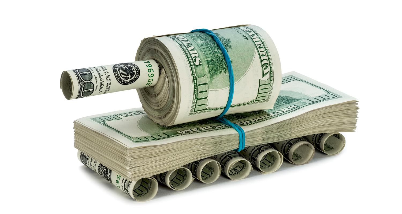 Основное оружие гибридной войны - деньги