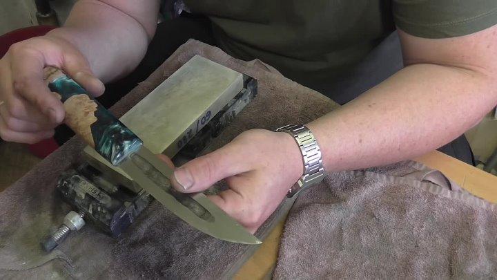 Подготовка ножа к заточке