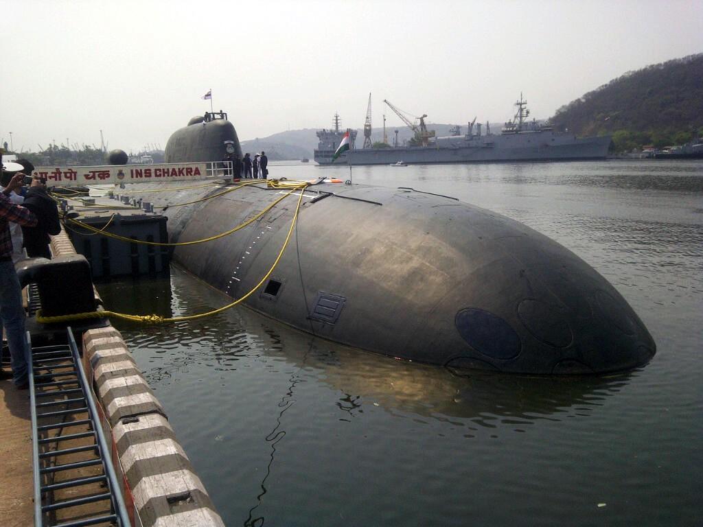 """Подводная лодка """"Нерпа"""""""