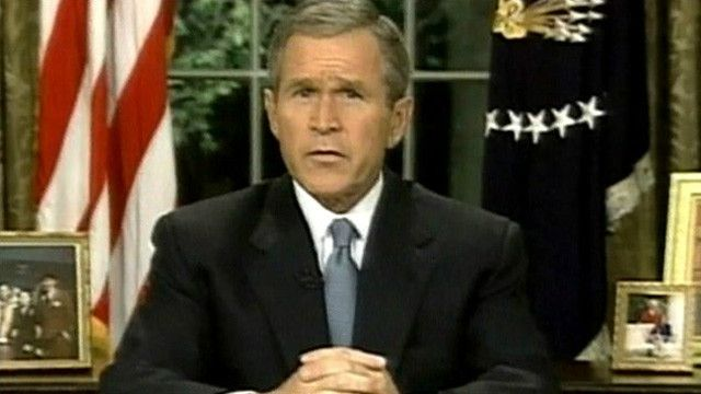 Президент США Джордж Буш