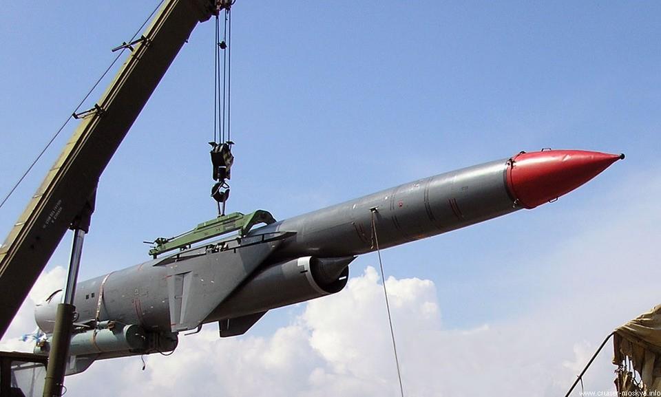 """Ракеты на вооружении крейсера """"Москва"""""""