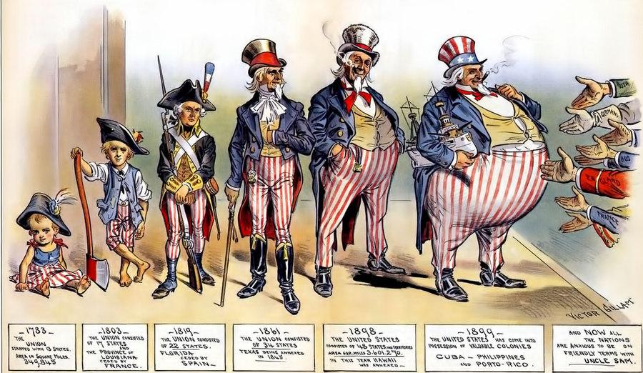 Развитие американской государственности