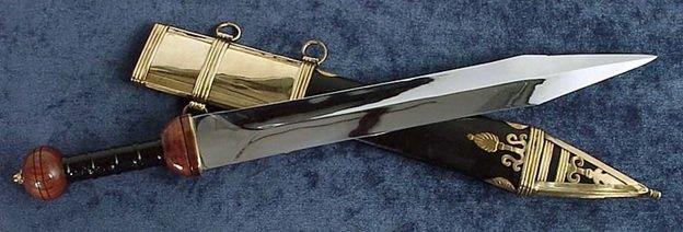 Римский меч с ножнами