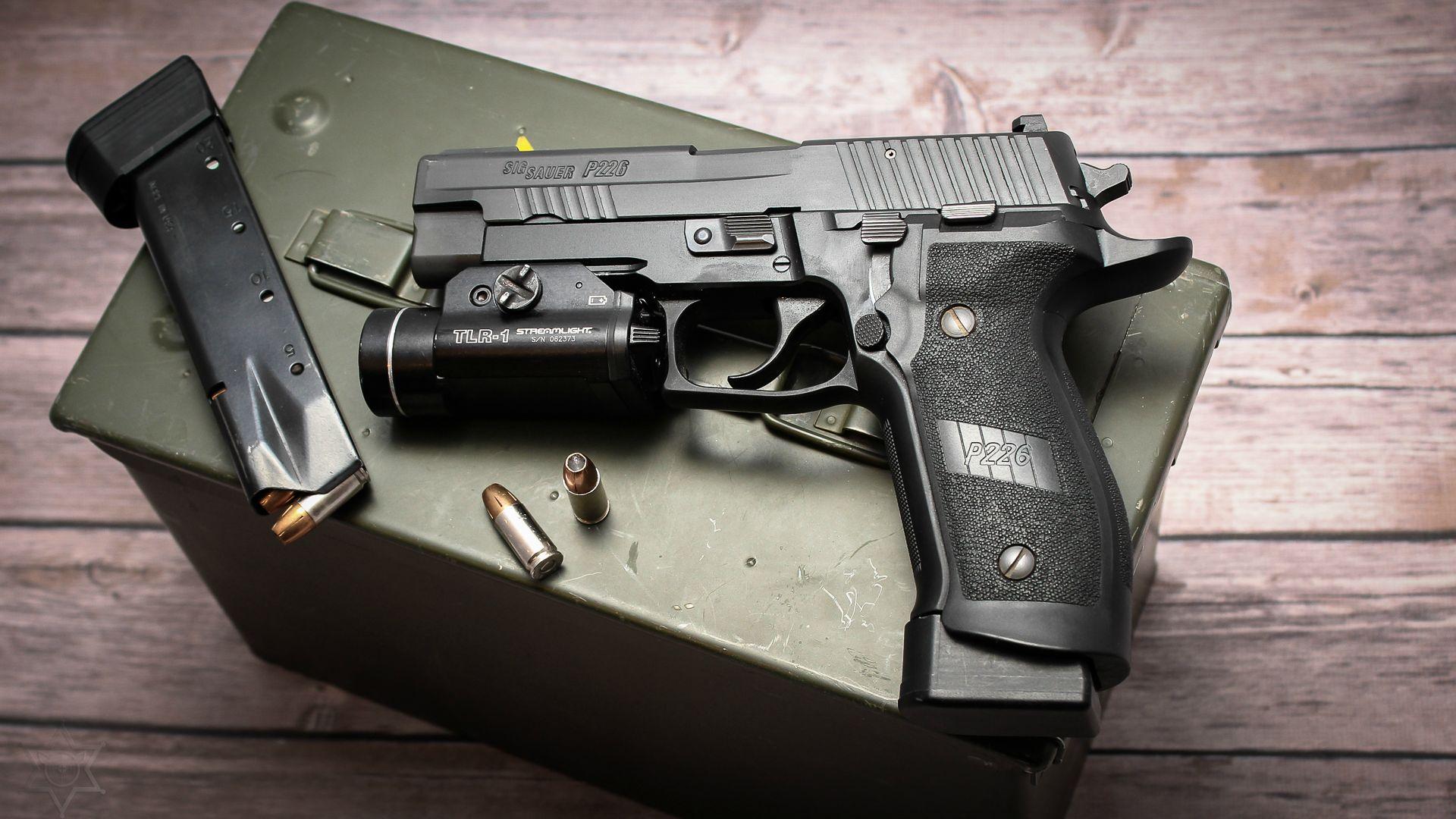 Швейцарский пистолет Зиг Зауэр P226