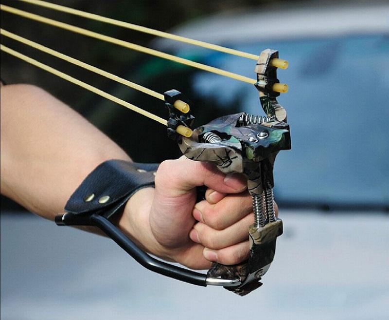 Как сделать мощную рогатку для охоты в 579