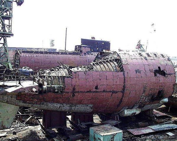 Строительство подводной лодки проекта 971